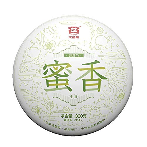 TAETEA 'Nectar' Raw PU'ER TEA Cake Organic Black Tea 300 Grams