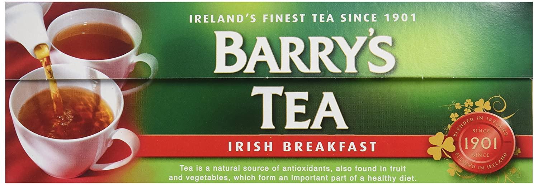 Barry's Tea Bags, Irish Breakfast, 80 Count - PACK OF 4