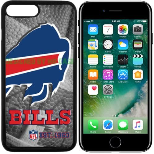 Bills Buffalo Football New Black Apple iPhone 7 Plus Case by Mr Case
