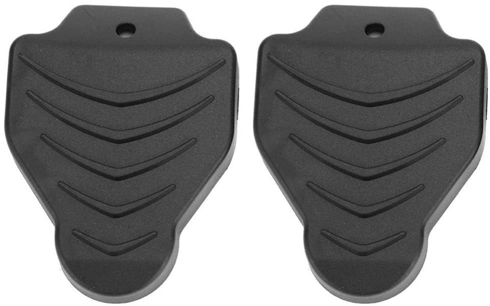 VGEBY 1 Pair Bike Cleat Cover, Self-Locking Cycling Pedal Shoe Cleats Protection Covers for Mountain Road Bike