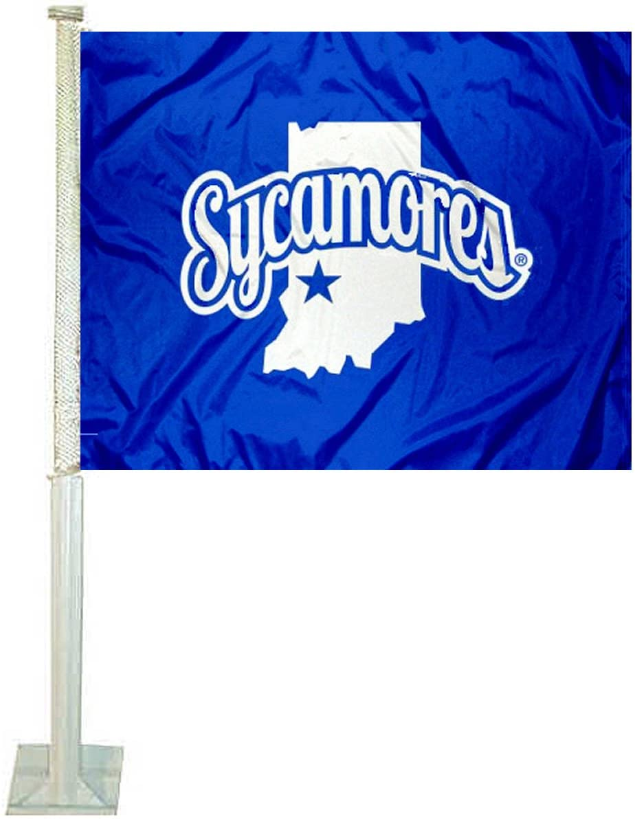 College Flags & Banners Co. ISU Sycamores Car and Auto Flag