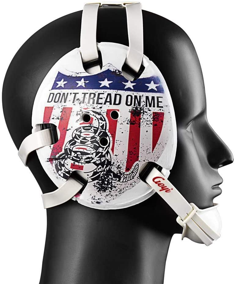 Geyi Wrestling Headgear Don't Tread On Me 2 Digital Printing Art