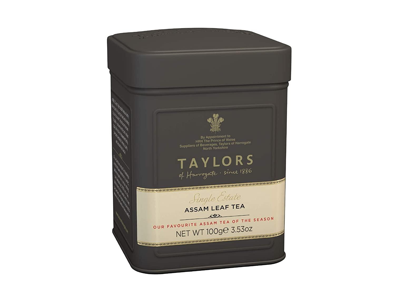 Taylors of Harrogate Assam Loose Leaf, 3.53 Ounce Tin
