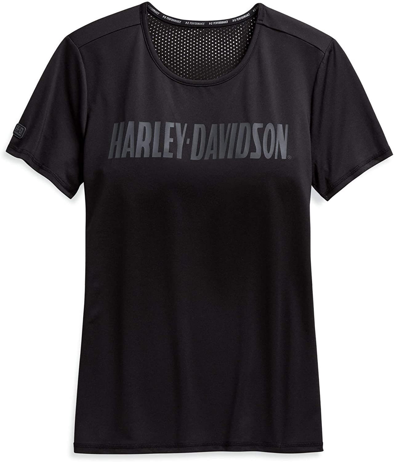 Harley-Davidson Women's Performance Wicking Mesh Accent Tee