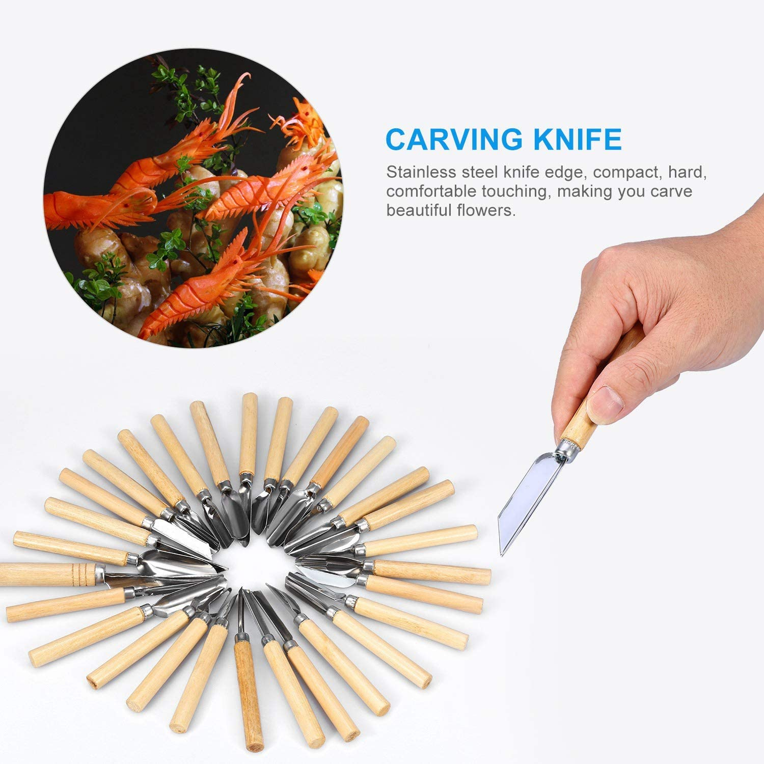 Kitchen Carving Tool, Carving Set, Carving Tool, Healthy fof Hote for Restaurant