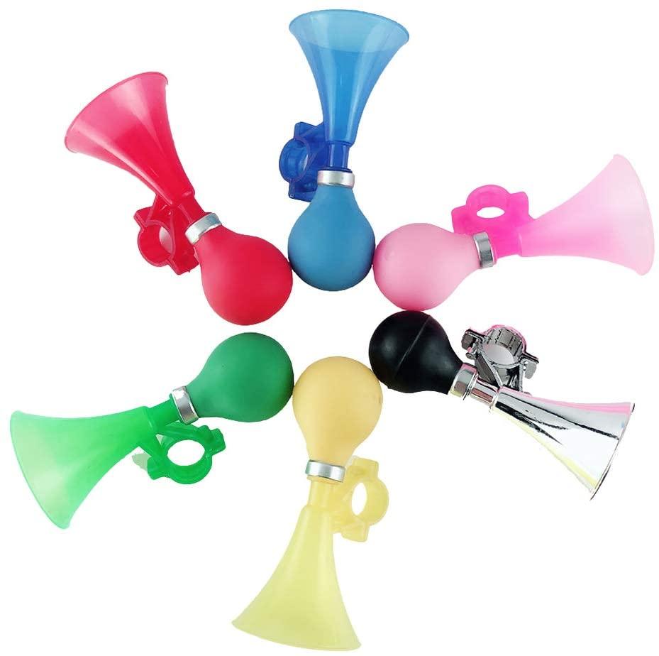 BESPORTBLE 6 Pcs Bell Bicycle Horn Air Horn Bell Handlebar Horn for Bike Decor Outdoor Girls