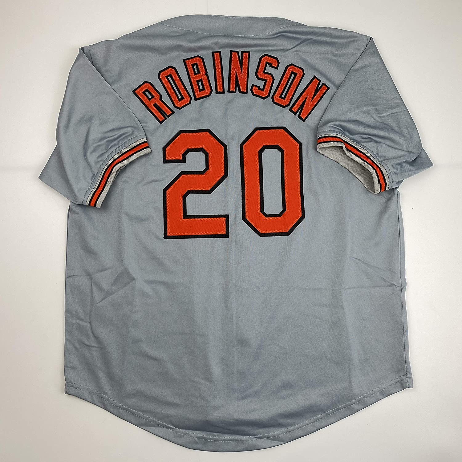 Unsigned Frank Robinson Baltimore Grey Custom Stitched Baseball Jersey Size Men's XL New No Brands/Logos