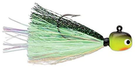 Hot Skirt Glow Jig 1/16 Chartreuse Lime Green
