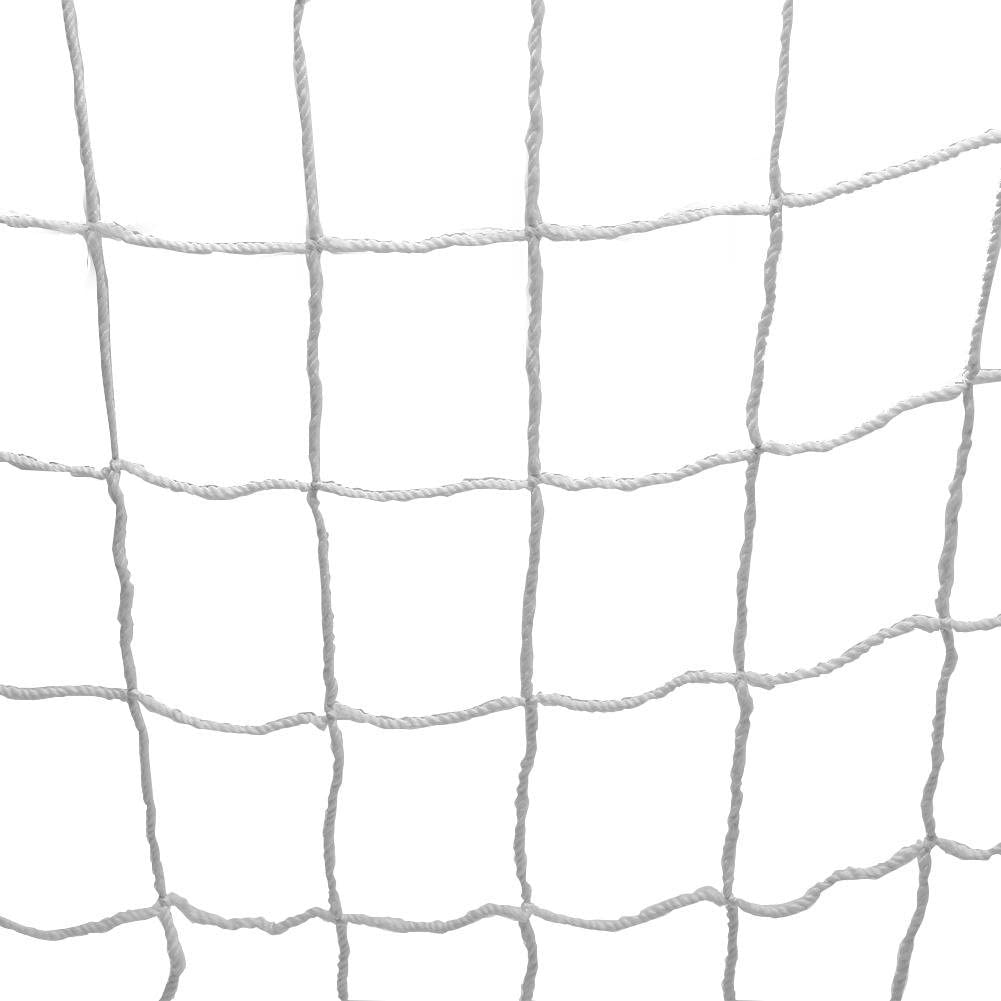 idalinya Full Size Football Durable Soccer Net Sports Replacement Soccer Goal Post Net for Sports Match Training
