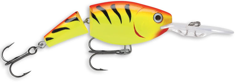 Rapala Jointed Shad Rap 07 Fishing lure, 2.75-Inch, Hot Tiger