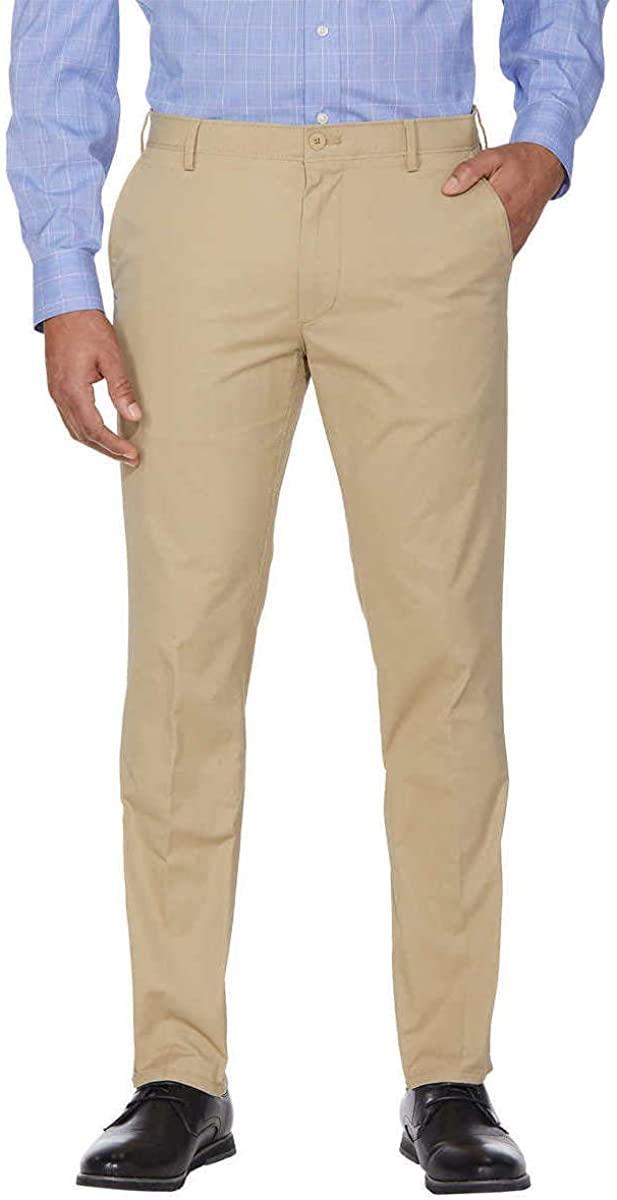 IZOD Mens Sportflex Max Straight Fit Chino Pants