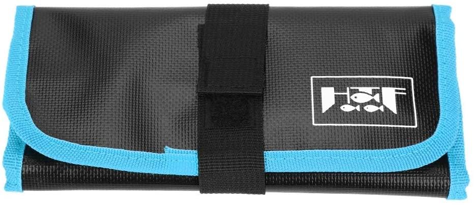 VGEBY Fishing Jig Bag, Fishing Lures Storage Tackle Bag Equipment Pocket Bag Fishing Tackle Accessories