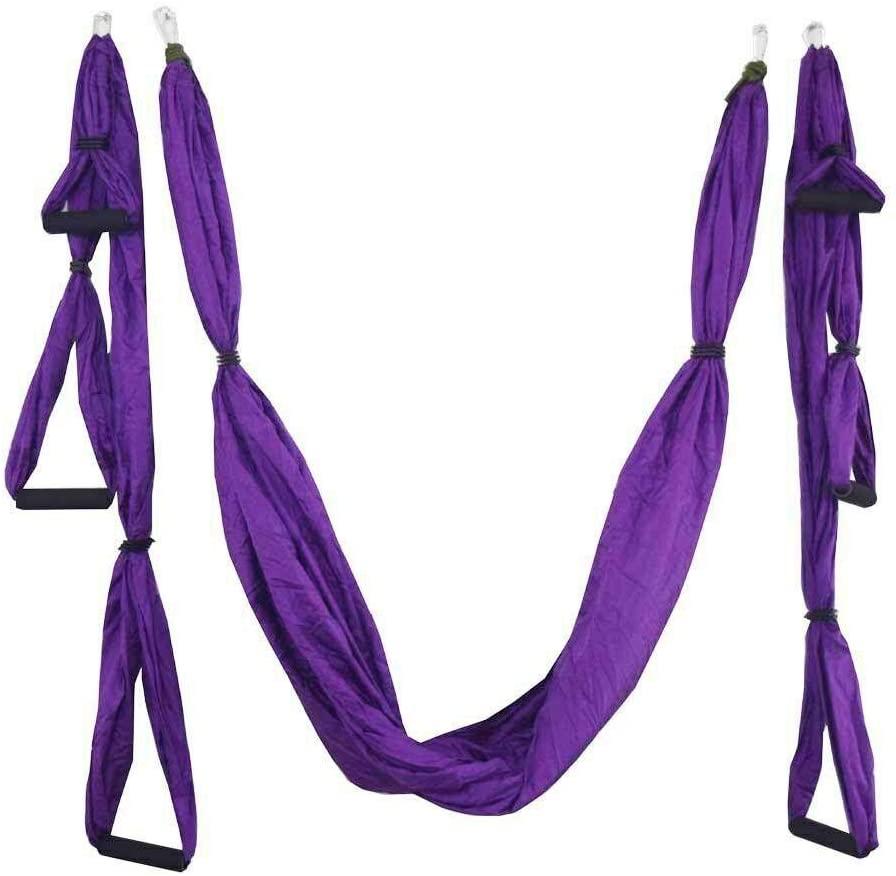 Isaa Miilne 20 Color 2.51.5 M Aerial Yoga Hammock Anti-Gravity Inversion Swing Trapeze