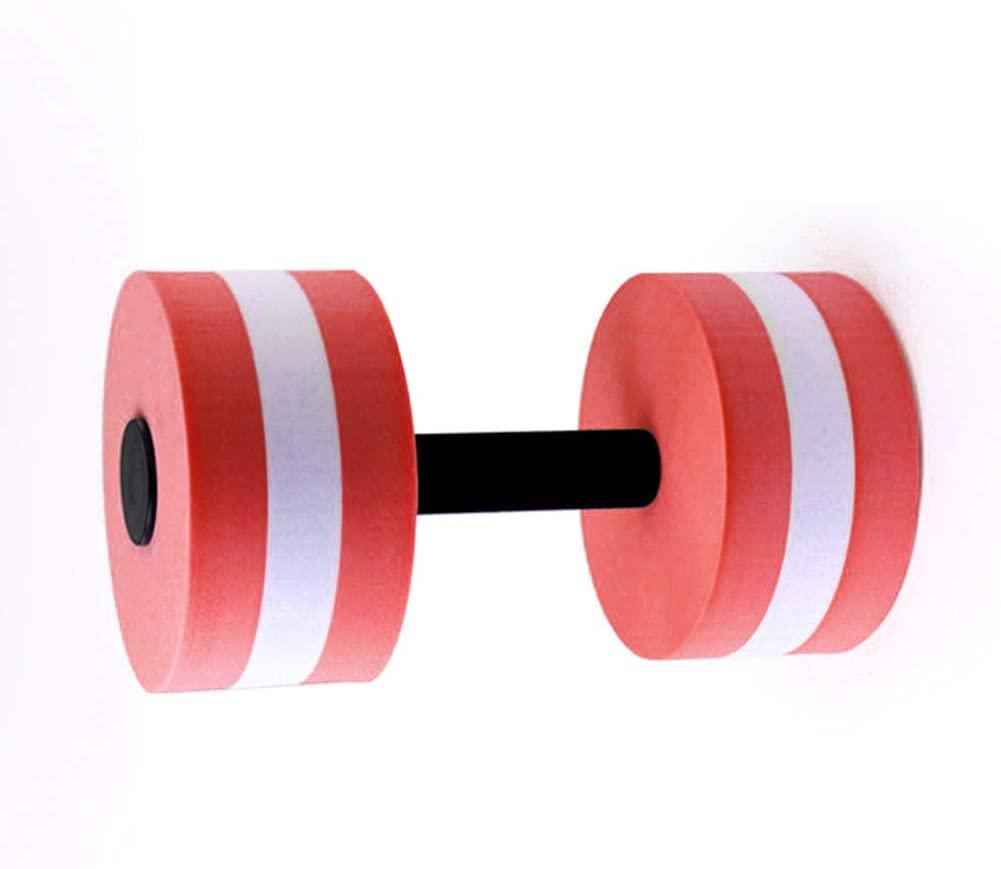 Dyllutrwhe Aqua Dumbbells Water Aerobics Aquatic Dumbbell EVA Yoga Barbell Exercise Fitness Equipment Strengthen The Muscles for Water Aerobics 1Pc