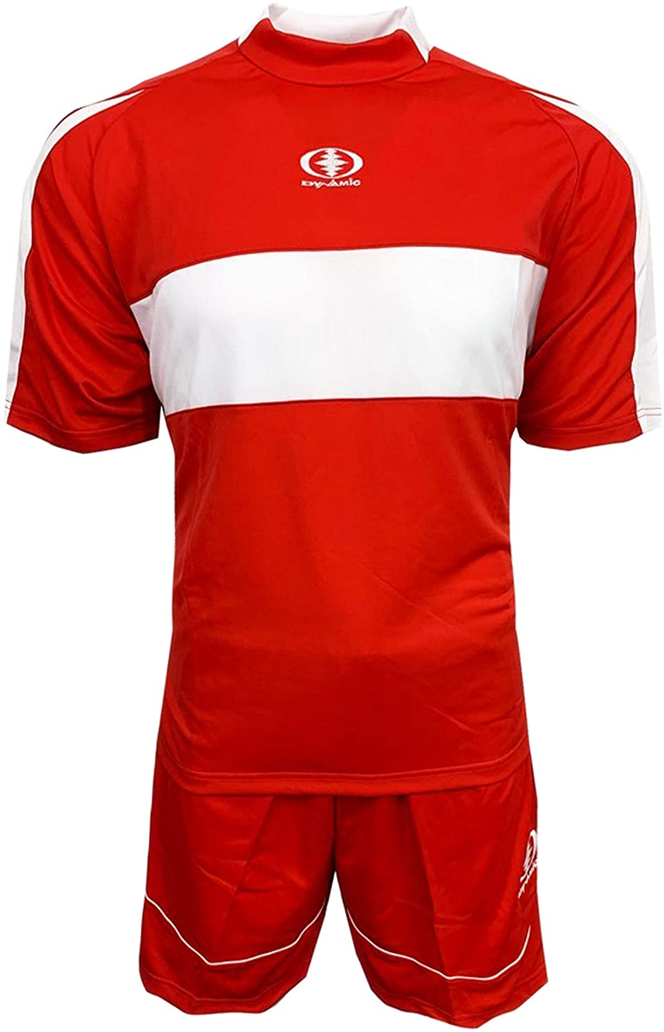 Soccer Uniforms for Teams, Short and Jersey, Two Styles Red and Blue