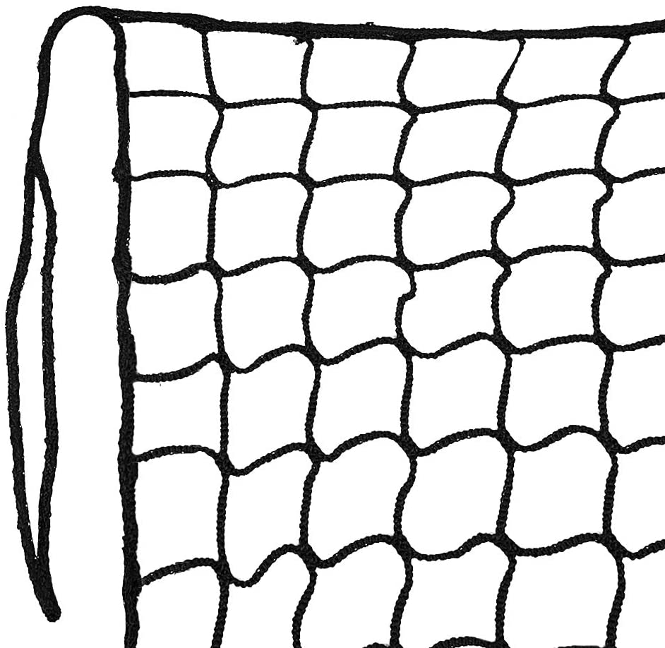 Aoneky Nylon Twisted Baseball Backstop Nets, 10x30ft / 10x40ft