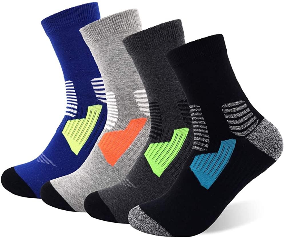 Copper Infused Athletic Ankle Socks for Men and Women Moisture Wicking Socks