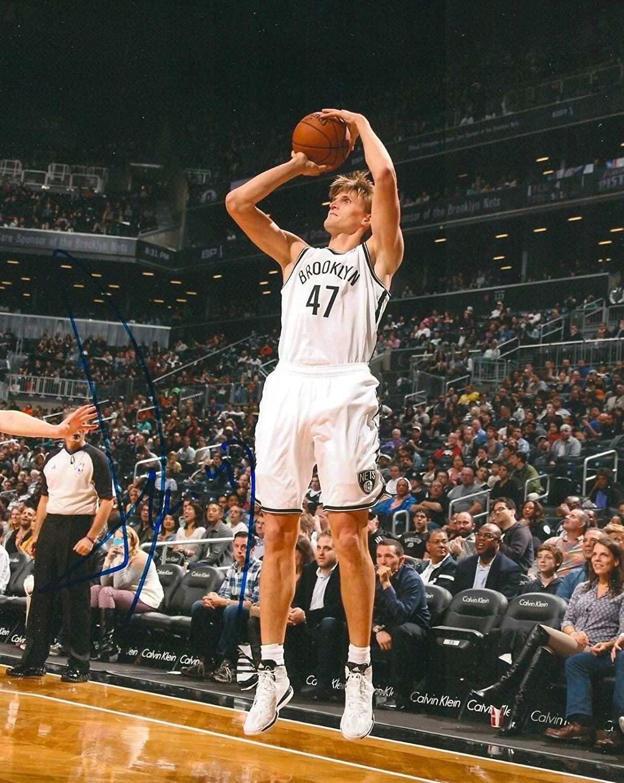 ANDREI KIRILENKO signed BROOKLYN NETS 8X10 NBA PHOTO COA - Autographed NBA Photos
