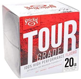 Strike King TGFC600-20C Tour Grade Fluorocarbon 600yd/20lb