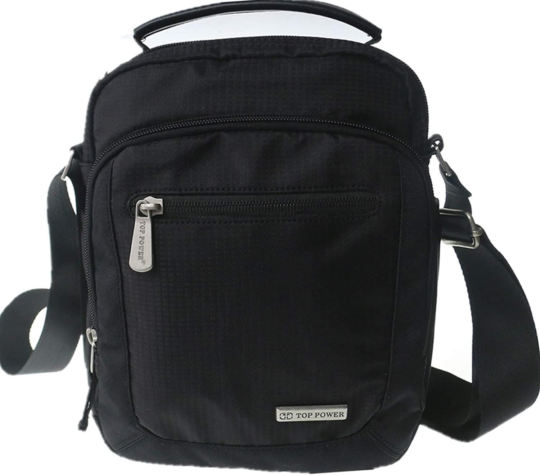 Scioltoo Men's Waterproof Travel Messenger Bag Oxford Cloth Multi-function Shoulder Bag Women's Medium Classic Shoulder Bag
