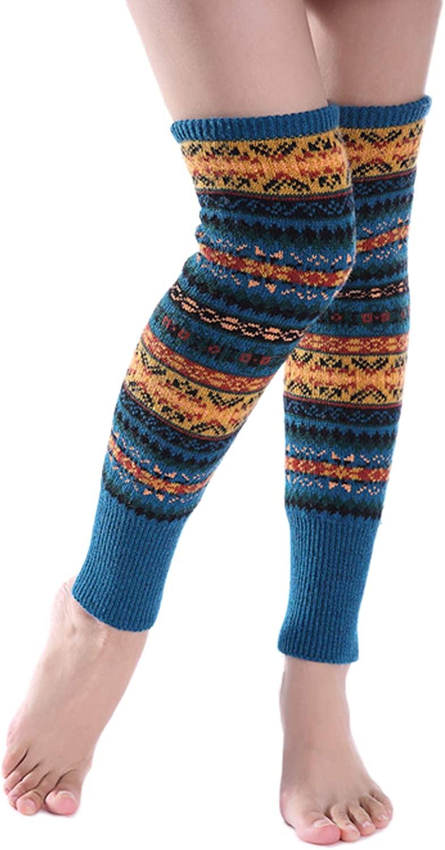 Chendvol Bohemia Leg Warmers Knitted Sleeve Socks