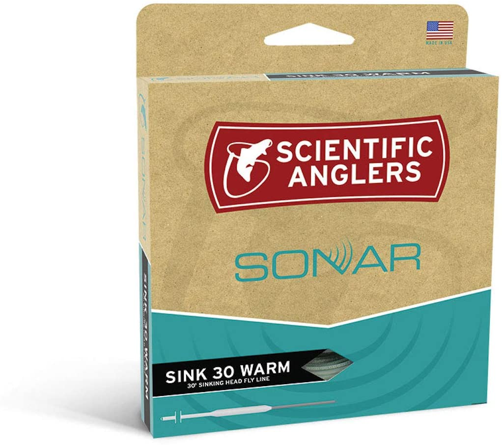 SCIENTIFIC ANGLERS SONAR SINK 30 WARMWATER 450gr 11/13wt FLY LINE
