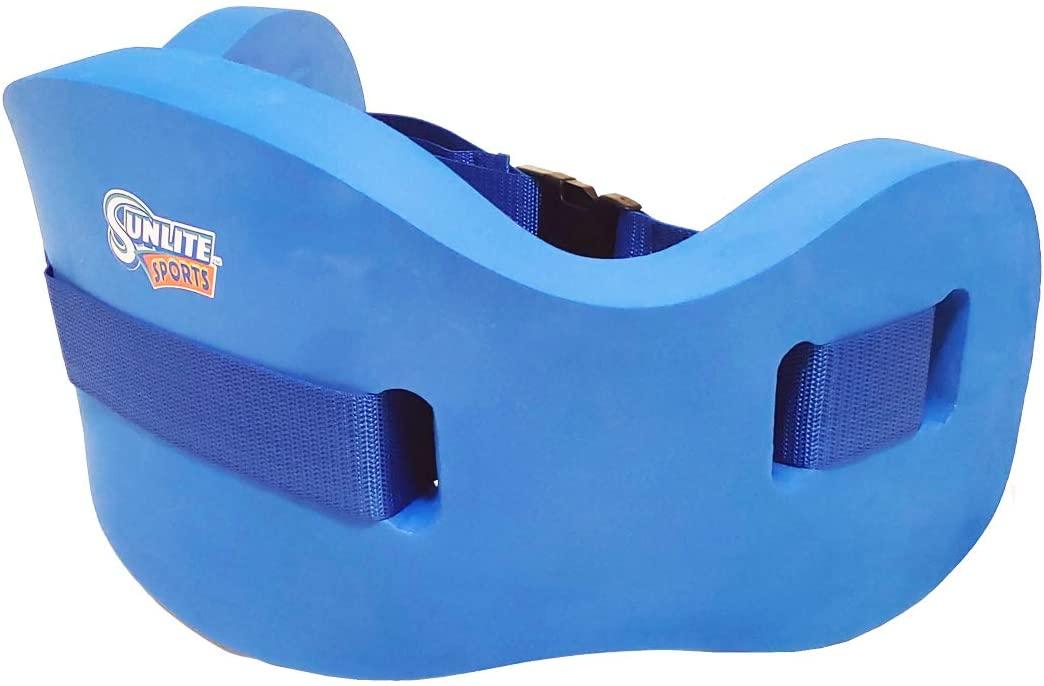 Sunlite Sports High-Density EVA-Foam Swim Belt, for Aquatic Exercise, Low-Impact Workout, Aerobic Exercise, Swim Training Aid