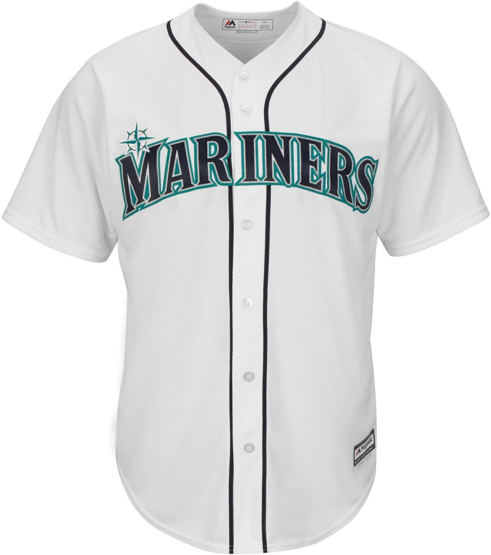 Seattle Mariners MLB Men's Blank Replica Jersey
