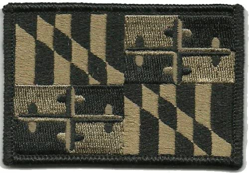 Maryland Tactical Flag Patch