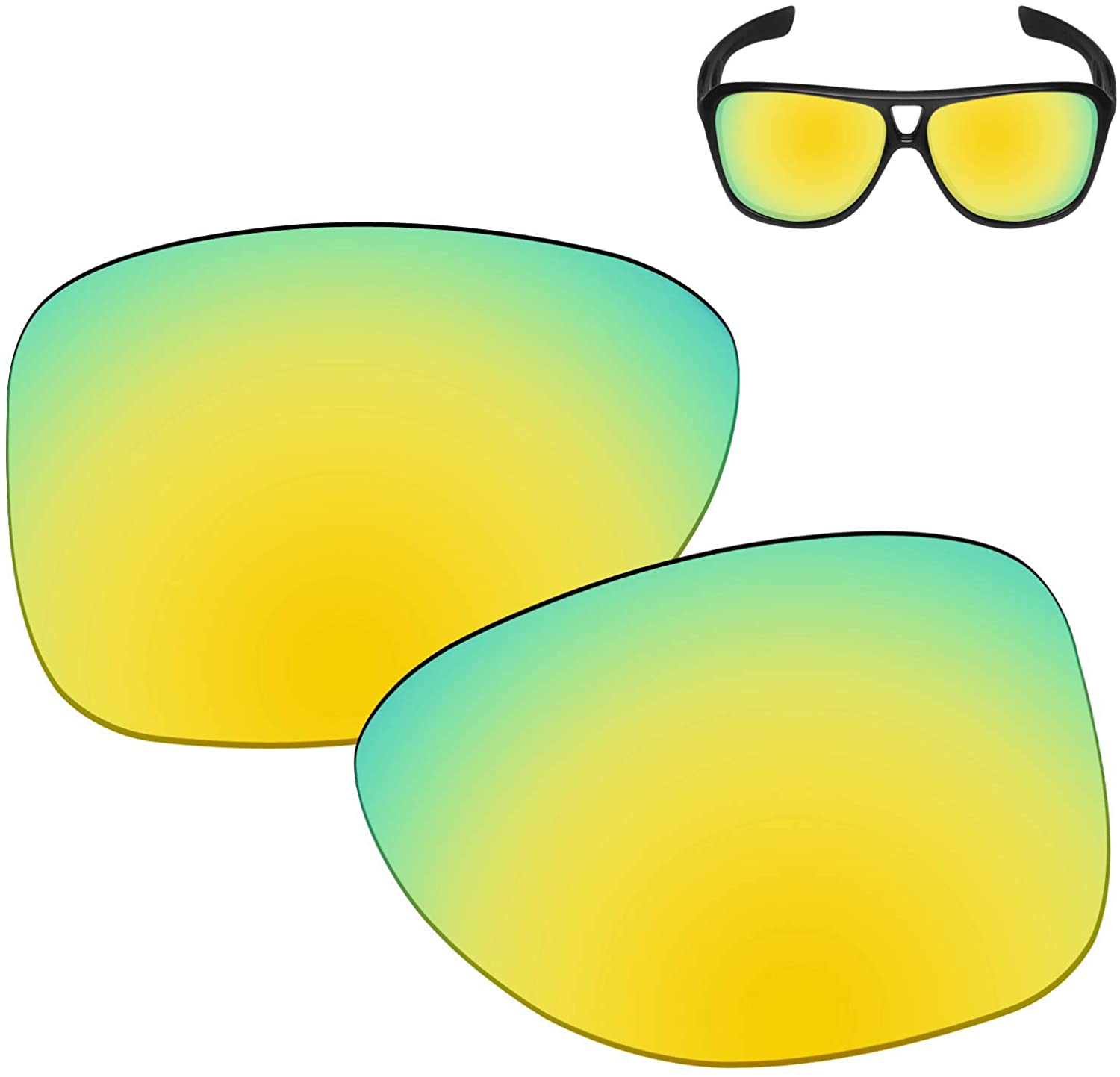 Galvanic Replacement Lenses for Oakley Dispatch 2 OO9150 Sunglasses - Multiple Choices