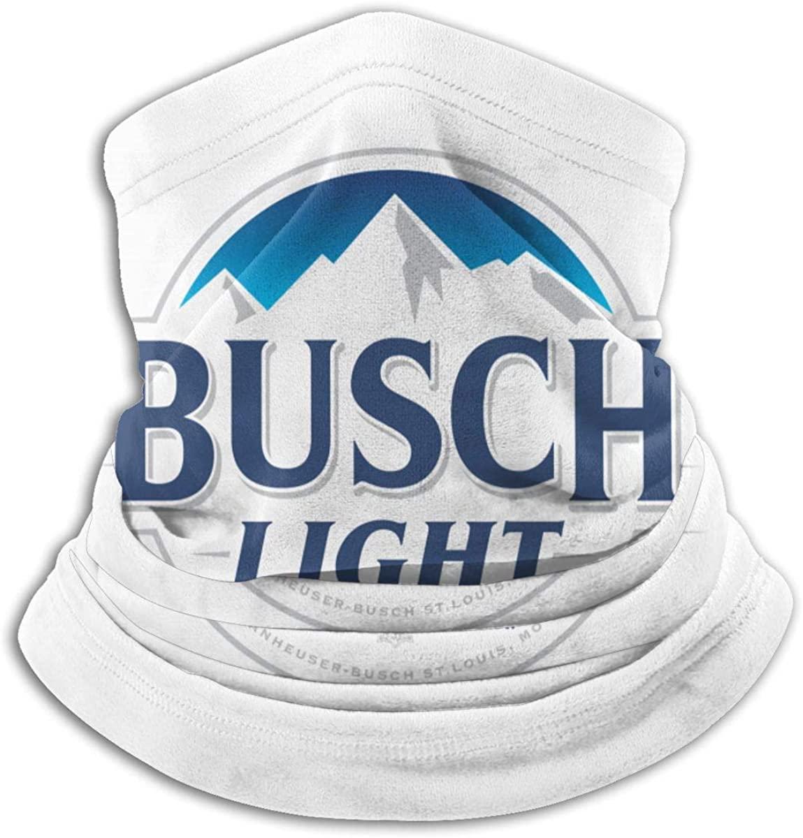 OHMGD Busch-Light Neck Gaiter Dust Men & Women Face Mask For Outdoor Sports Cover Scarf Bandana