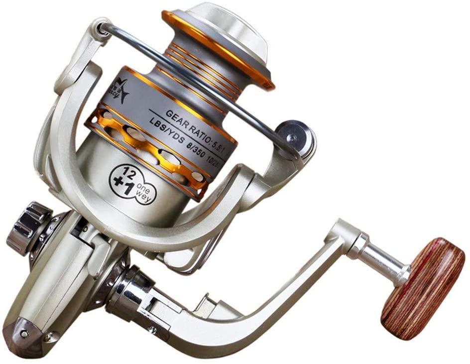 LQKYWNA 13 Axis Fishing Reel Metal Head Fishing Line Reelspinning Integration Corrosion Resistance Fold High Strength
