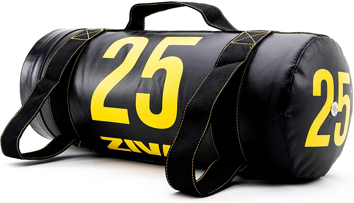 ZIVA Portable Power Core Bag - Pre-Weighted Heavy Duty Commercial Grade PVC Exercise Sandbags with Non-Slip Handles - Multiple Sizes - Perfect for Home Gym Weight Training Crossfit Workouts