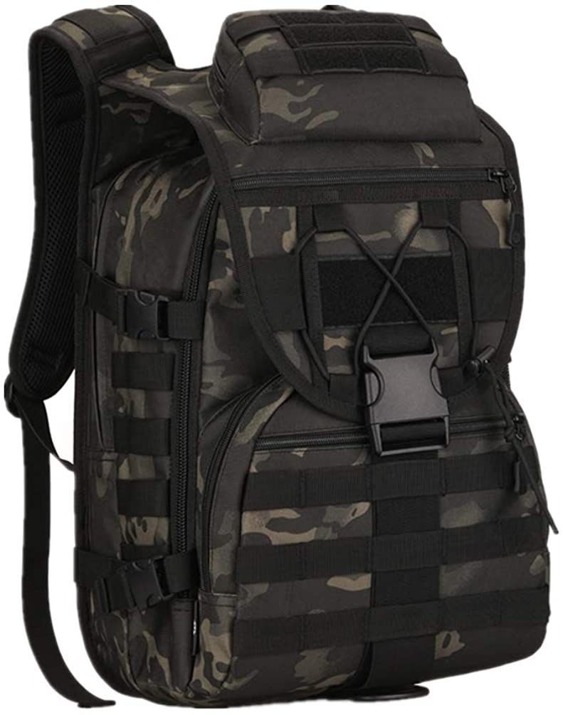 40L Tactical Military Molle Backpack Water&Abrasion Resistant Outdoor Hunting Trekking Bag