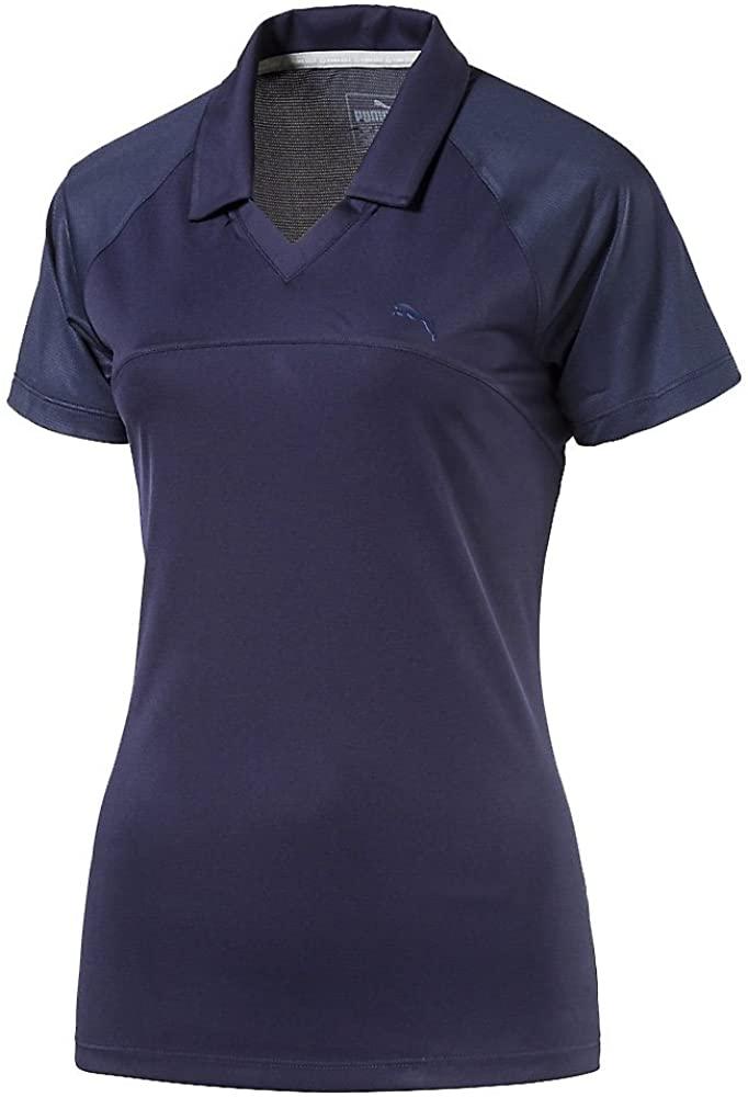 PUMA Golf Womens W Mesh Polo