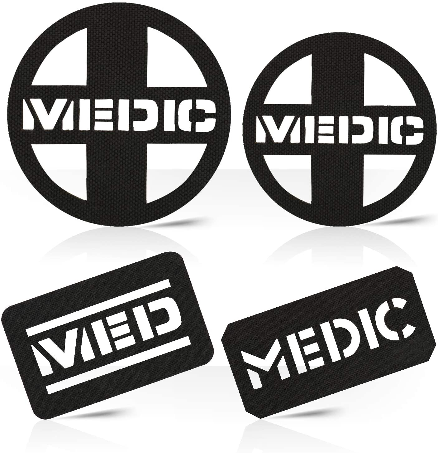 M-Tac Morale Patch Medic Patches Bundle Military Tactical Hook Fasteners