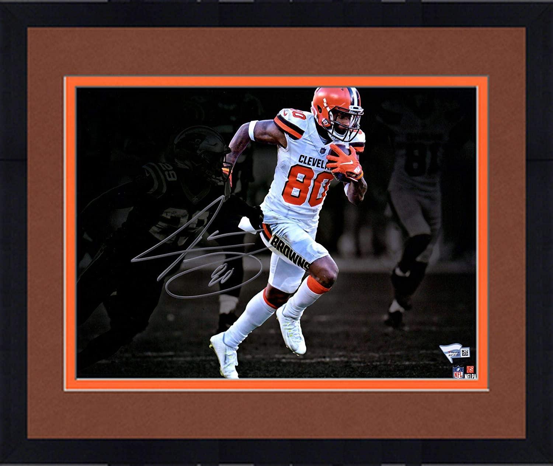 Framed Jarvis Landry Cleveland Browns Autographed 11