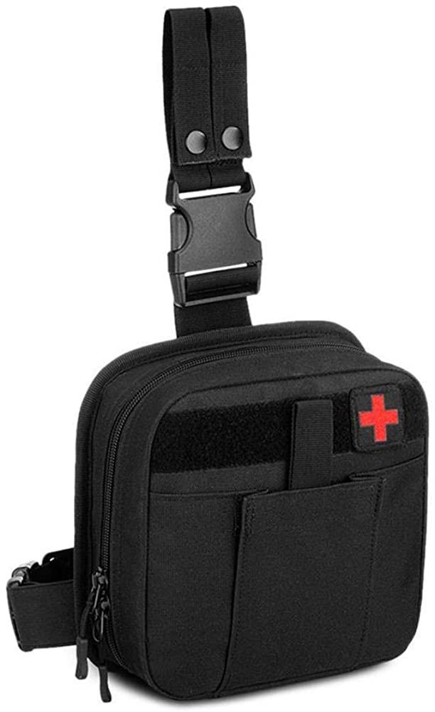 KyStudio Outdoor Waterproof Tactical Leg Bag Accessory Belt Pack Bags Tactical Military Men Nylon Waist Bag