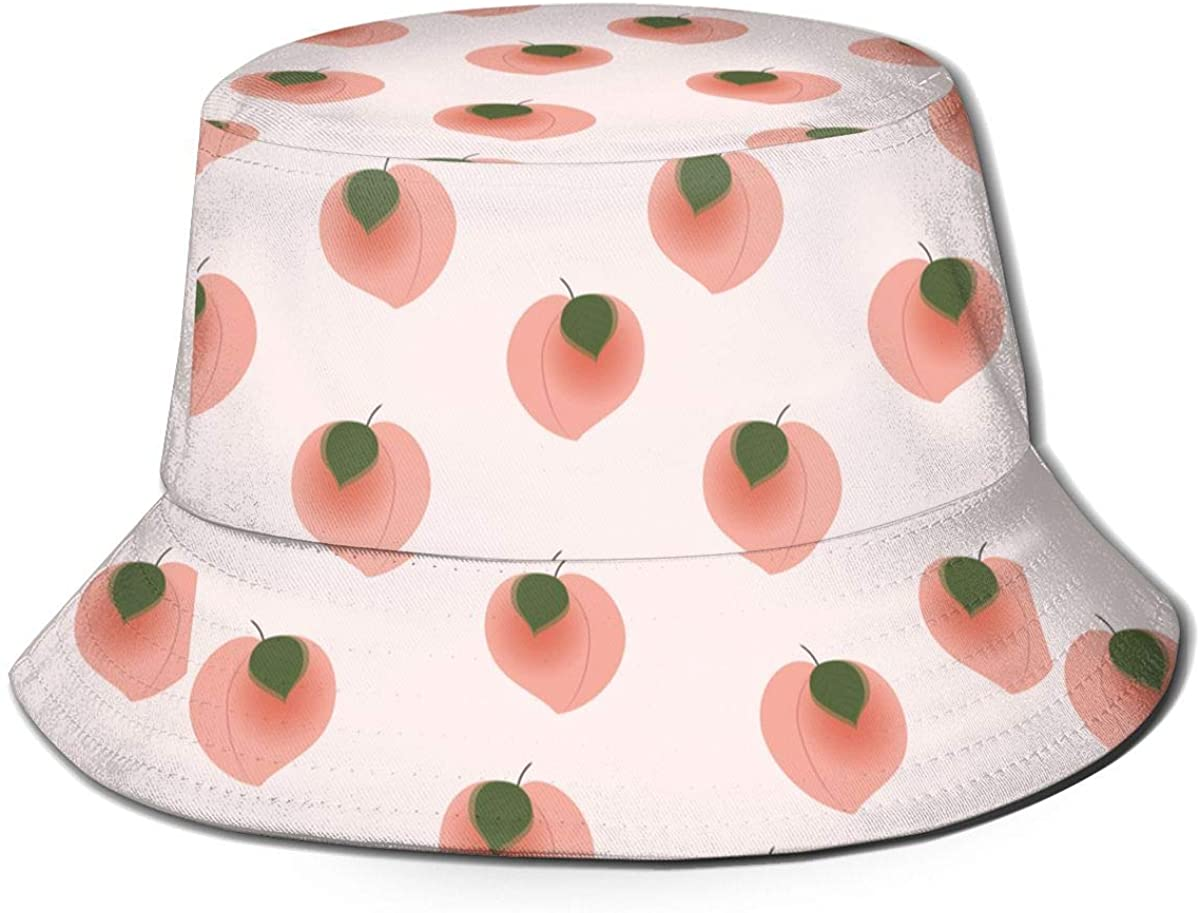 Orange Fruit and Blossom Mens Womens Trends Fashion Bucket Hat