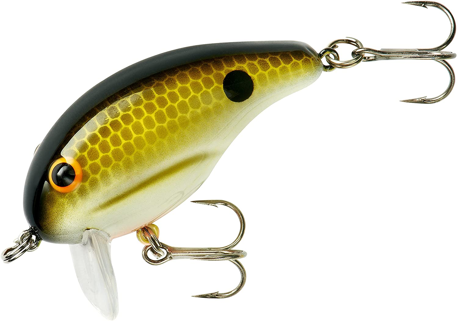 Bandit Foot-Loose Super-Shallow Crankbait Fishing Lure, 2 Inch, 1/4 Ounce