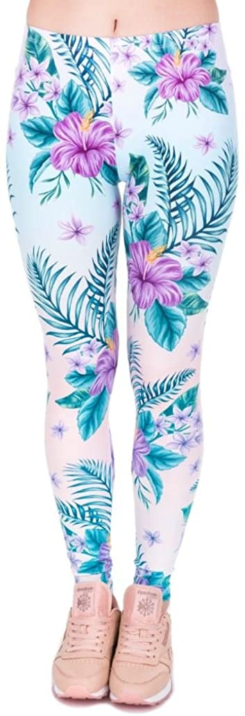 Kukubird [Originally British Designed] Mandala Bandala Fitness Leggings Running Yoga Pilates Pants Tights Size Stretchable