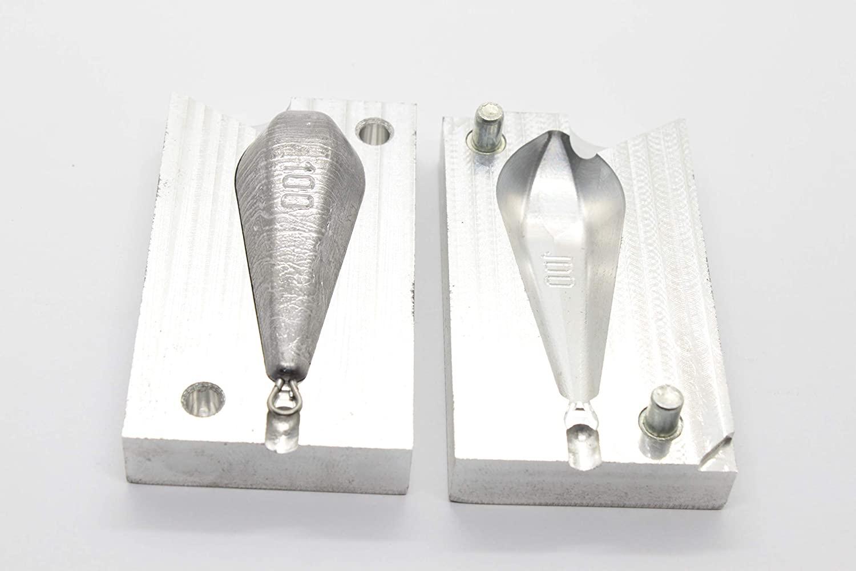 best_nj Fishing Weights Sinker Mold Bank CNC Aluminium