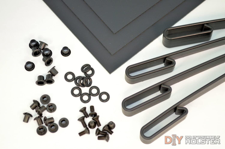 Kydex Holster DIY Kit w/IWB Over Hooks (1.5