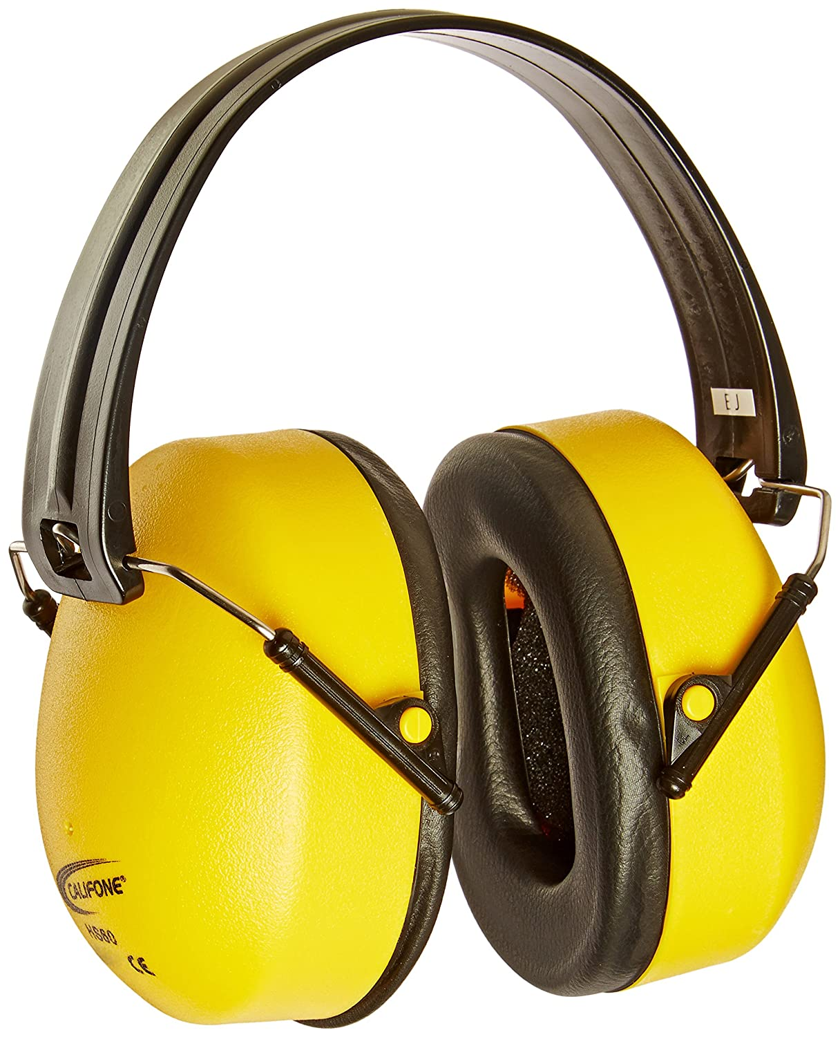 Califone Best Hearing Protectors, Bright Yellow Safety Color - 1301882