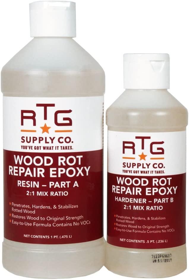 RTG Wood Rot Repair Epoxy (Pint)