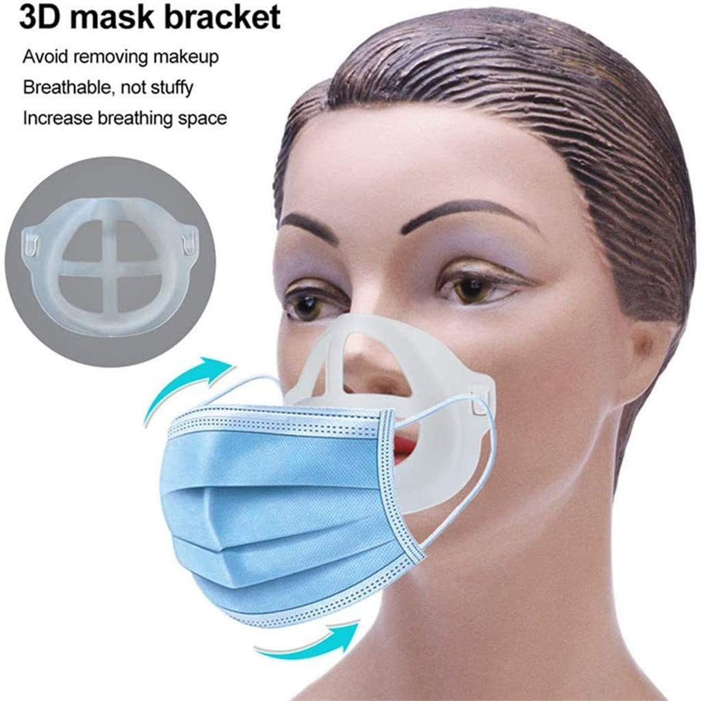 Wondere Mask Inner Support Frame, 3D Mask Bracket Mask Support 3D Bracket for Comfortable Mask Wearing