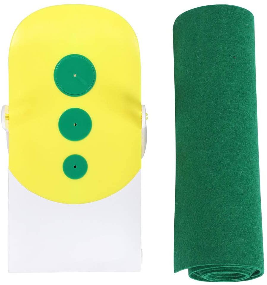 VGEBY1 Golf Putting Mats, Golf Grass Portable Indoor Green Professional Golfing Practice Putter Mat (Putting Mat+Putting Simulator)