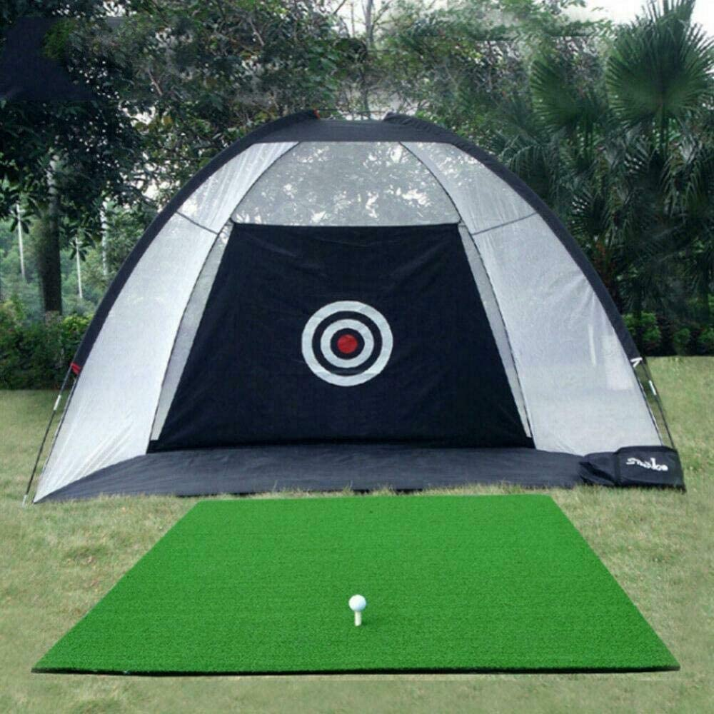 LangTianGuoJi Golf Net, Outdoor Supersized Golf Practice Net Driving and Chipping Cage Training Aid +Bag
