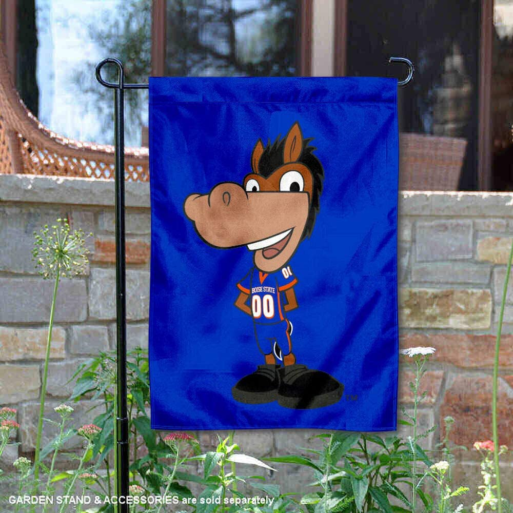 College Flags & Banners Co. Boise State Broncos Buster Bronco Garden Flag