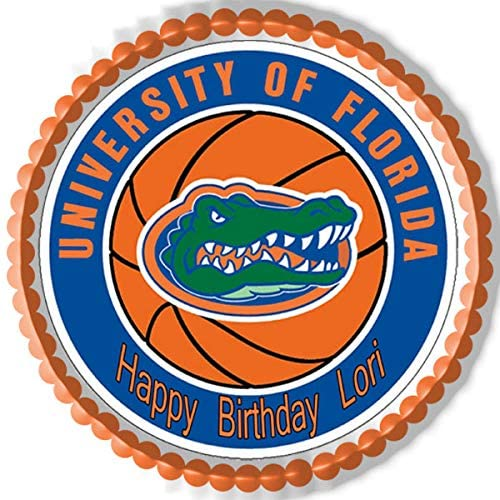 Florida Gators - Edible Cake Topper - 7.5